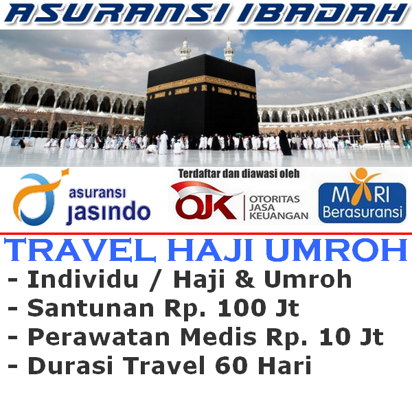 Jasindo Travel Insurance Haji & Umroh Individu (Durasi Travel 60 Hari)