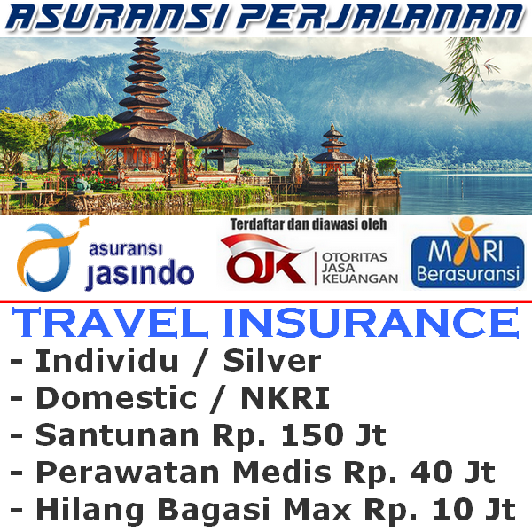 Jasindo Travel Insurance Domestik Silver Individu (Durasi Travel 7-8 hari)