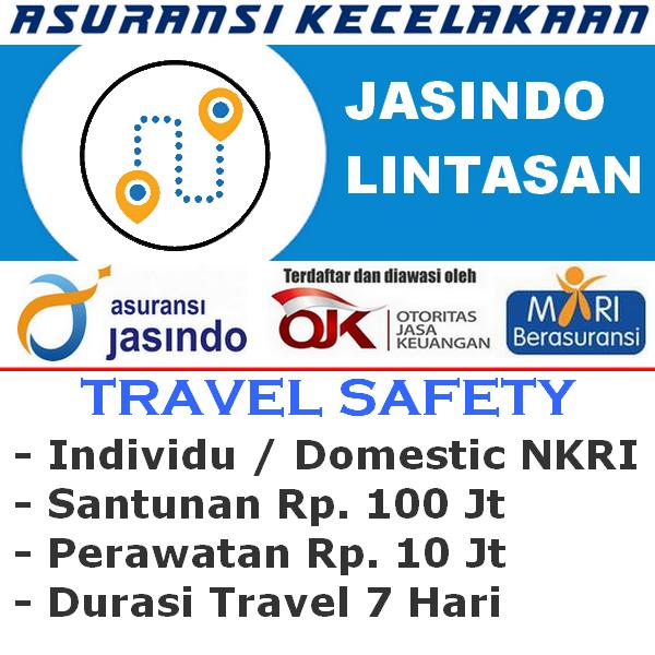Jasindo Lintasan Premi Rp. 10.000 - Individu (Durasi Travel 7 Hari)